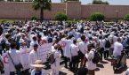 إضراب وطني جديد للمتعاقدين يومي 3 و4 دجنبر